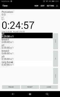 sequential timer - náhled