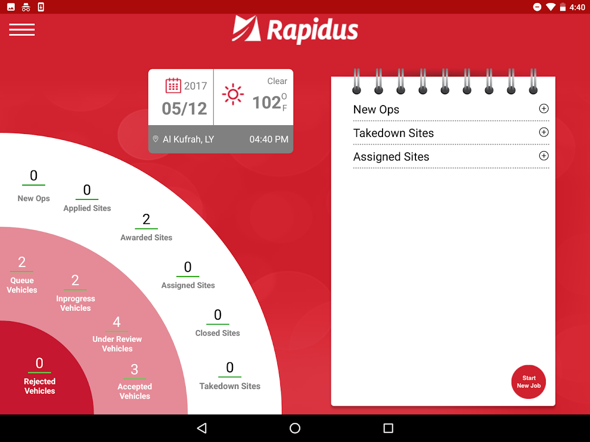 Rapidus- screenshot