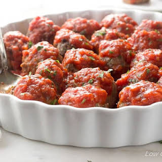 Mom's Low Carb Meatballs Recipe - Italian Style (Keto Meatballs).