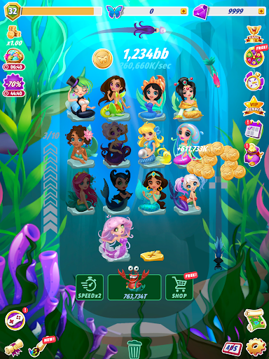 Merge Fairies - Best Idle Clickerud83euddda filehippodl screenshot 11