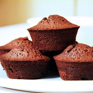 Chocolate-rum-raisins Muffins.