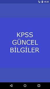 Kpss 2018 Güncel Bilgiler - náhled