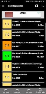 Son Depremler 2.2 Android Mod + APK + Data 1