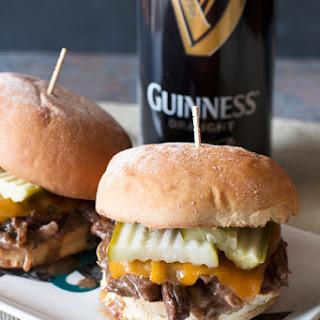 Guinness Braised Short Rib Sliders