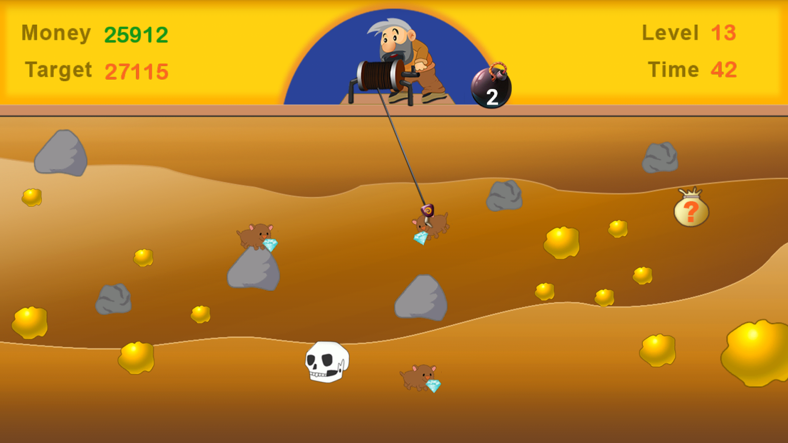 Gold Miner 2017- screenshot