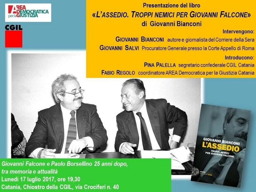 Falcone e Borsellino, locandina