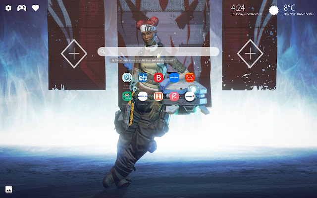 Lifeline Apex Legends Wallpaper New Tab