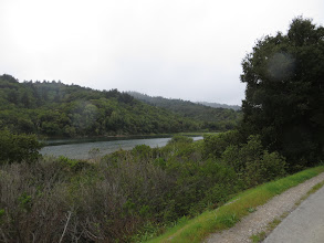Photo: Crystal Springs Reservoir from Sawyer Camp Trail