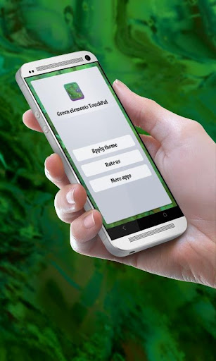 Green elements TouchPal