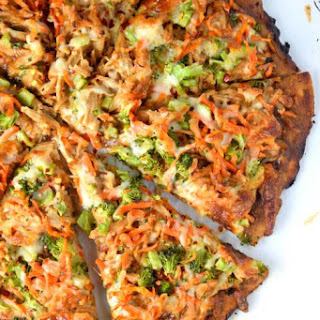 CPK Inspired Thai Chicken Pizza Recipe