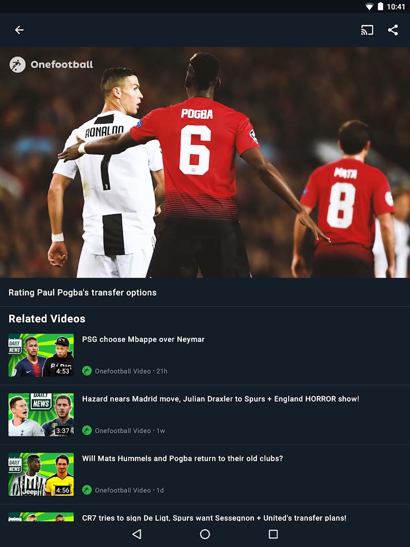 Onefootball - Soccer Scores Screenshot 10