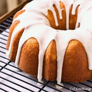 Meyer Lemon Whipping Cream Pound Cake