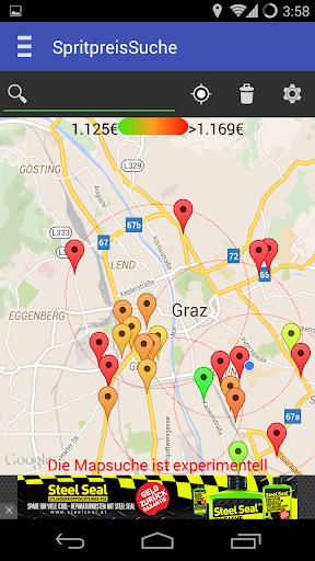 Gas Stations and prices Austria  screenshots 5