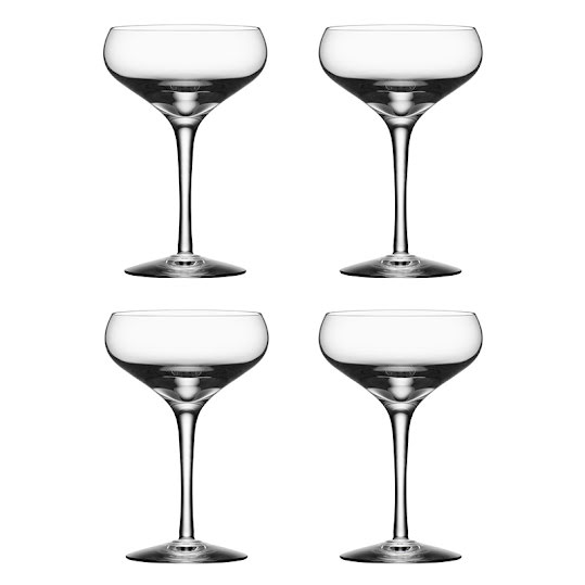 Kosta Boda More Coupe 4-Pack 21cl
