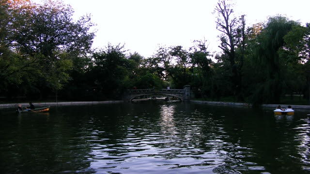 Lake in Cismigiu Gardens Bucharest