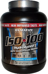 Dymatize Nutrition Iso-100 Hydrolyzed Whey Protein Isolate - Gourmet Vanilla