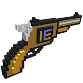 Guns 3D Color by Number - Weapons Voxel Coloring