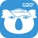 GDOスコア-ゴルフスコア管理・分析アプリ!GPSで飛距離を計測!ゴルフレッスン動画でスイング練習 icon