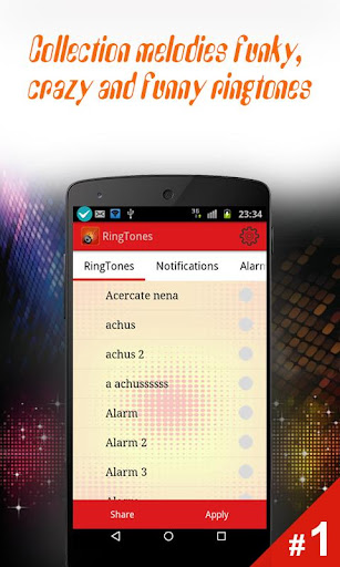 Free New Ringtones- All Types