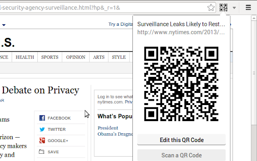 The QR Code Extension