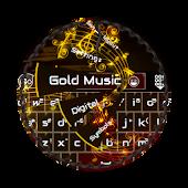 Gold Music GO Keyboard