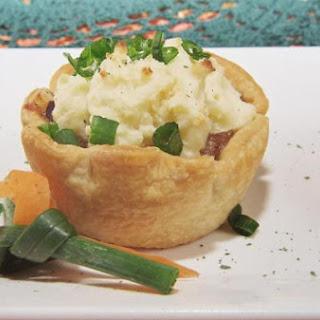 Mini Pot Roast Shepards Pie Tarts.