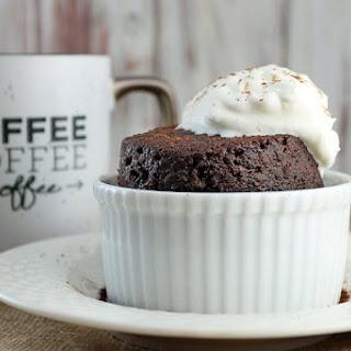 Keto Chocolate Cake in a Mug.