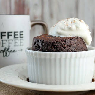 Keto Chocolate Cake in a Mug.