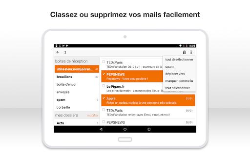 Mail Orange, 1er mail français screenshot 17