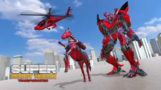 Download Super Horse Robot Transform: Flying Helicopter For PC Windows and Mac apk screenshot 3