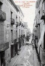Photo: Vilanova i la Geltrú - Carrer Comerç (1937)