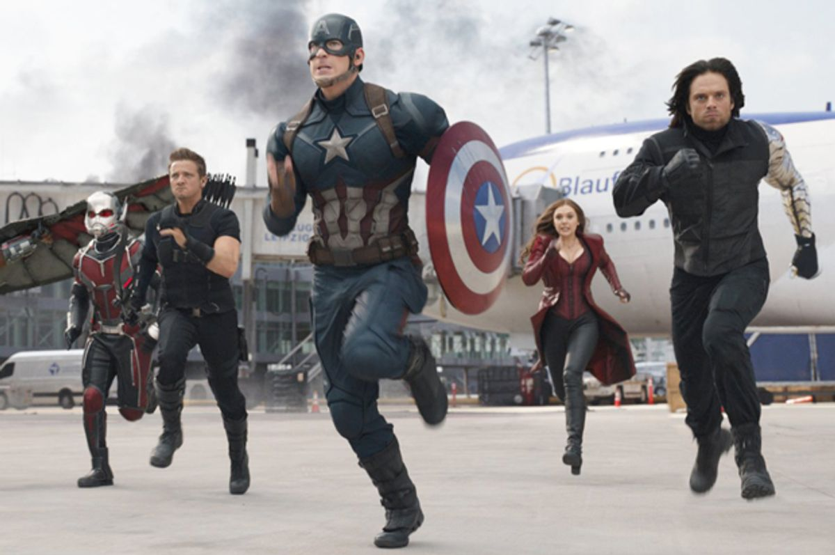 How Long Would It Take To Watch All The Marvel Movies