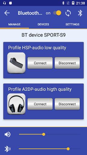 Bluetooth Audio Widget Battery FREE  screenshots 2