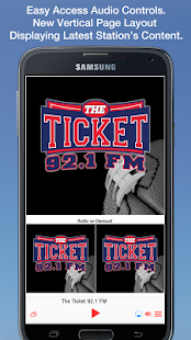 The Ticket 92.1 FM- screenshot thumbnail