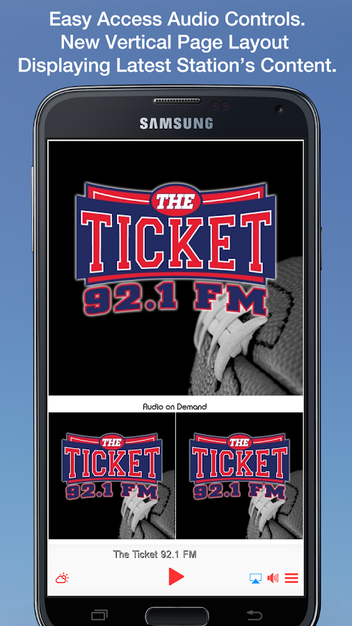 The Ticket 92.1 FM- screenshot