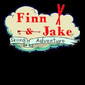 Finn and Jake Skiing Adventure