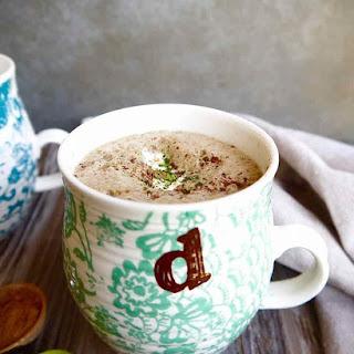 Dairy-free Matcha Hot Chocolate (Paleo).