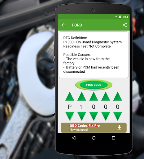OBD2 Codes Fix Free Screenshot