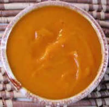 My pumpkin soup