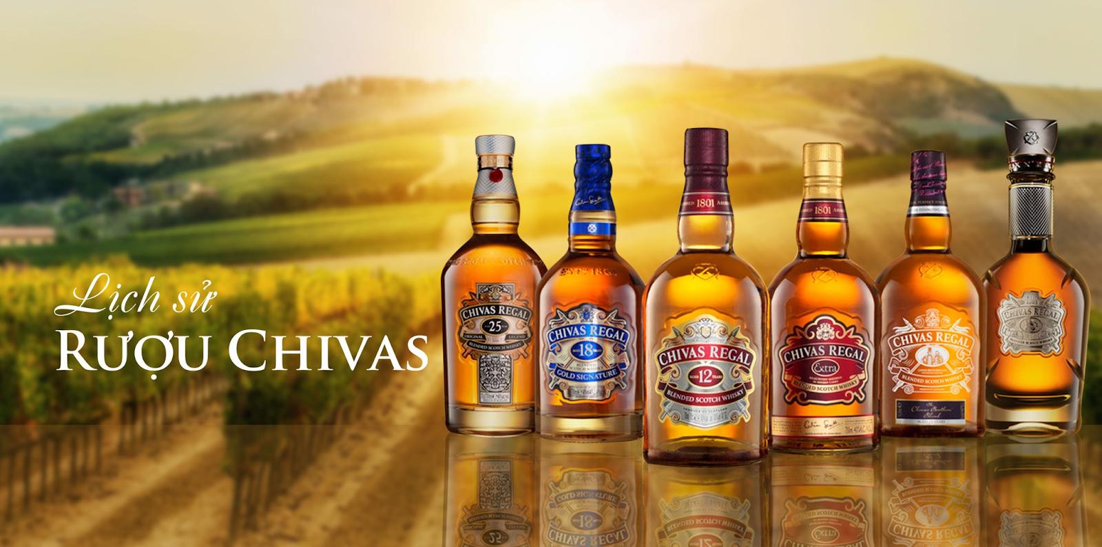 Rượu Chivas 38 năm