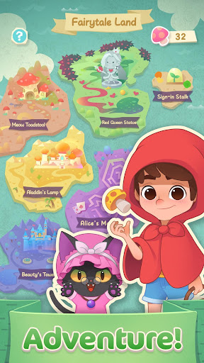 Jellipop Match-Decorate your dream islanduff01 Apk 1