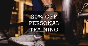 Personal Training Discount - Facebook Event Cover Template