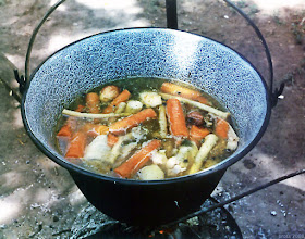 Photo: Początek gotowania rosołu...