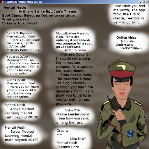 Download Mental Math: Artillery Strike Sgt. Joe's Army MOD APK 1