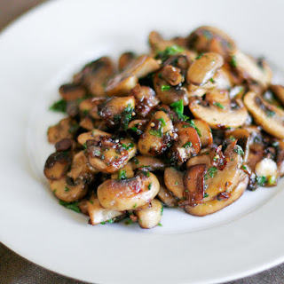 Pan Sautéed Mushrooms