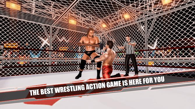 Cage Revolution Wrestling World : Wrestling Game Android 1