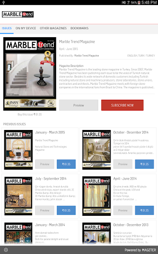 玩商業App Marble Trend Magazine免費 APP試玩