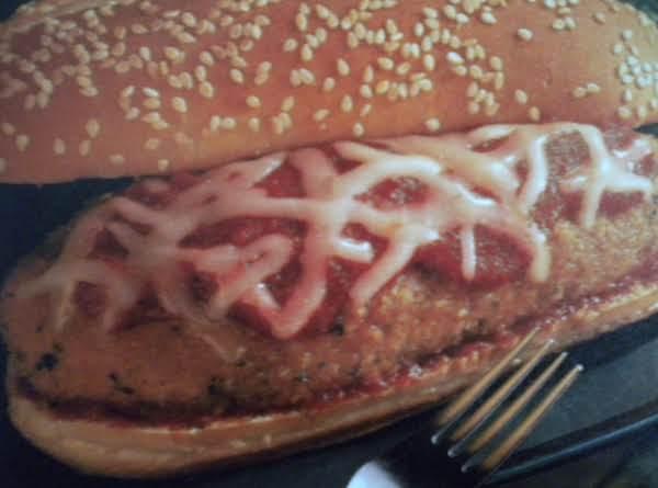 Chicken Parmesan Hero Sandwiches
