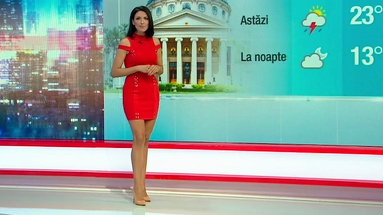 Anca Ciota este noua prezentatoare a rubricii meteo la Kanal D