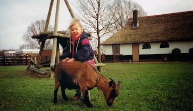 Photo: Kinderboerderij half jaren 90-tig